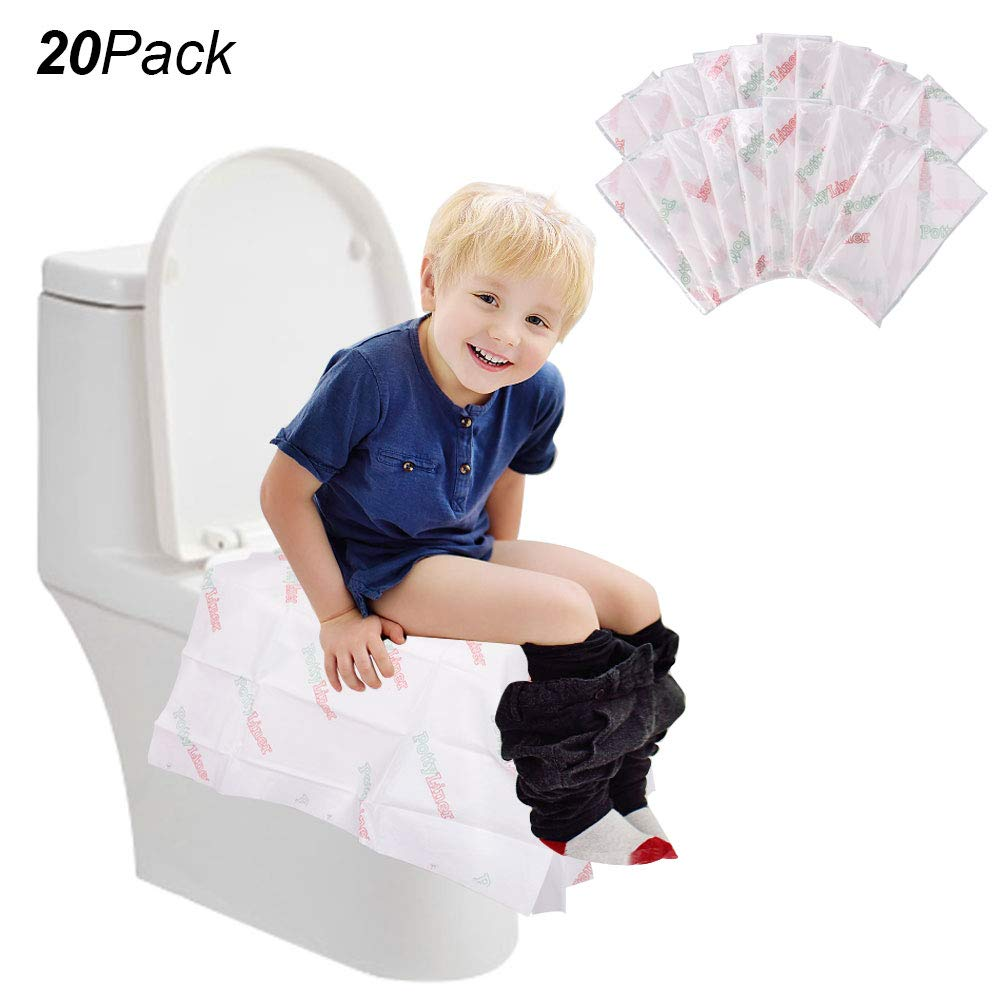 Travel Hospital Household Bathroom Necessity Disposable Toilet Seat Covers 50 Pieces Flushable Paper Toilet Seat Covers