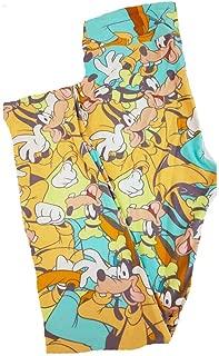 Lularoe One Size OS Disney Goofy Leggings fits Sizes 2-10
