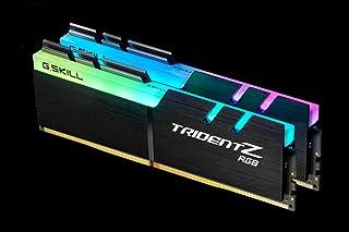 G.skill DDR4 Trident Z RGB For AMD F4-3200C16D-16GTZRX (DDR4-3200 8GBx2)
