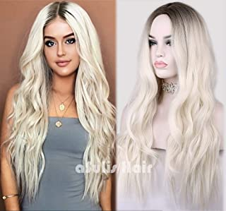 Best white blonde wig with dark roots Reviews