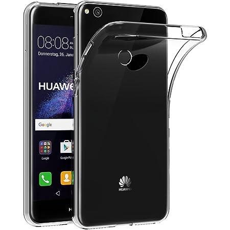 AICEK Coque Huawei P8 Lite 2017, Etui Housse Huawei P8 Lite 2017 Mince Silicone Transparent Couqe pour P8 Lite 2017 Coque de Protection en TPU avec ...