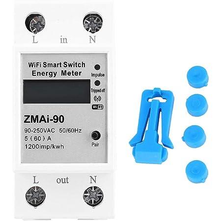 Smart Energy Meter 110-250V WIFI Remote Power Meter Energy Monitoring Meter New