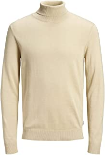JACK & JONES Jjeemil Knit Roll Neck Noos Dolcevita Uomo