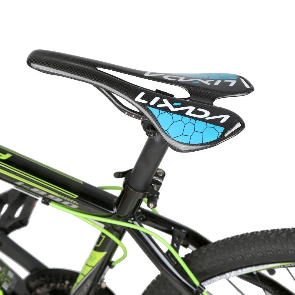 lixada Full Carbon Fiber MTB Mountain Bike Bicicleta Sillín ...