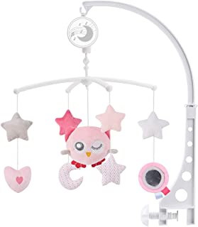 JAMIE Baby Musical Crib Mobile with Hanging Rotating Toys,Wind-up Music Box Design,Infant Bed Decoration for Newborn Boys ...