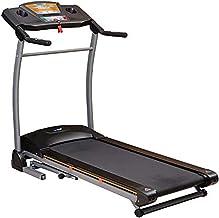 Skyland Foldable Treadmill w/Powerful 4HP Peak Motor & Built-in Speaker;43cm Wide Running Space & Suspensor,110kg MaxUserW...