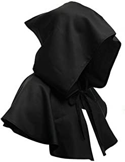 Medium, Black Spooktacular Creations Mantello di Velluto con Cappuccio Halloween Donna Accessorio per Costume da Strega Cape