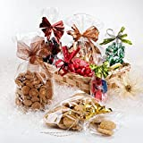 Italpak- Buste Trasparenti, Sacchetti per Alimenti 100 pz, 15x25cm, X000000152500