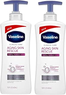 NEW Aging Skin Rescue Hand And Body Lotion 13.5 FL OZ (400ml) - 2-PACK