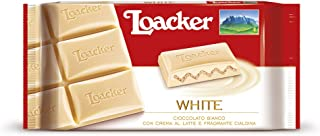 Loacker White Chocolate Bar, 87 gm