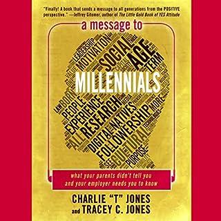 A Message to Millennials audiobook cover art