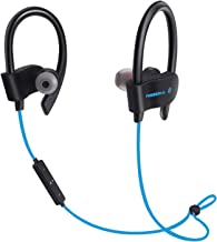 FREESOLO 56S Sports Wireless Bluetooth Earphone with Mic for Music and Calling, Blue