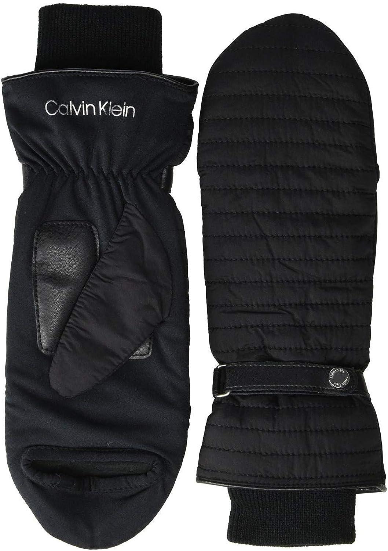 Calvin Klein Linear Quilted Mitten