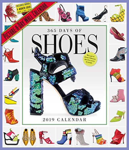 Price comparison product image 365 Days of Shoes Picture-A-Day Wall Calendar 2019