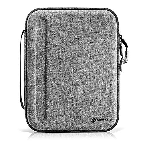 tomtoc Portfolio Case for 2020 10.9 iPad Air 4/ 11 iPad Pro / New iPad 10.2 /10.5 iPad Air , Organizer Bag Holder for iPad Pencil, Cable, A5 Note, Business Storage Padfolio with Tablet Sleeve