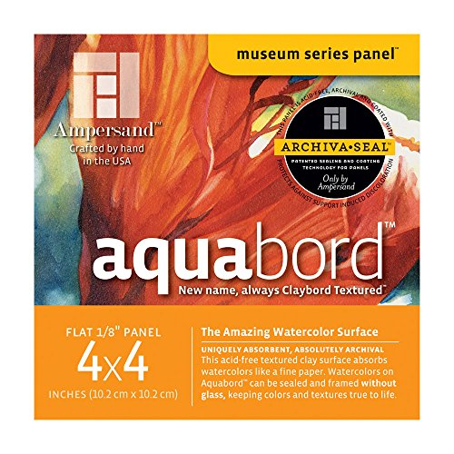 Ampersand Aquabord 4X4 1/8 Inch Pk / 4
