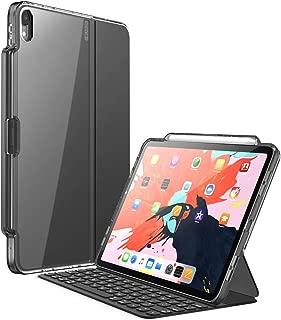Funda para iPad Pro 11.0 '' 2018,Teclado para i-Blason [Compatible con la funda inteligente oficial y el teclado inteligente] Funda Clear Protecive con soporte para lápiz para iPad Pro 11.0 Inch 2018 Release (Negro)