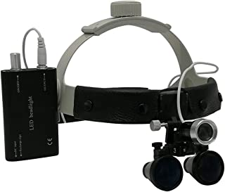 Medical Magnifier Dental Head Magnifier + Headlamp Set Surgical Headlamp 3.5X/2.5XDental Stomatology Special Headlights Fo...