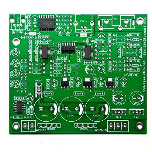 CS4398 CM102 DACキット192K / 24BIT SPI&I2Sアンプボード、CS8416IC IC付き