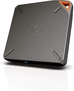 LaCie STFL1000200 1000 GB 燃油 无线存储 - 灰色