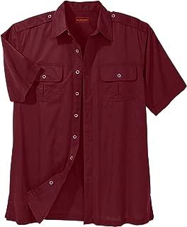 Boulder Creek by KingSizeBoulder Creek Men's Big & Tall Short Sleeve Pilot Shirt