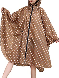 MUCHAO Unisex Impermeable Poncho De Lluvia Capa Ligera Reutilizable Impermeable Ciclismo Ocio Senderismo Impermeable