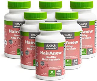 Naturenetics (Unique Hair Growth Vitamins With Biotin) - Tested - For Hair, Skin And Nails - Women And Men - Addresses Vit...
