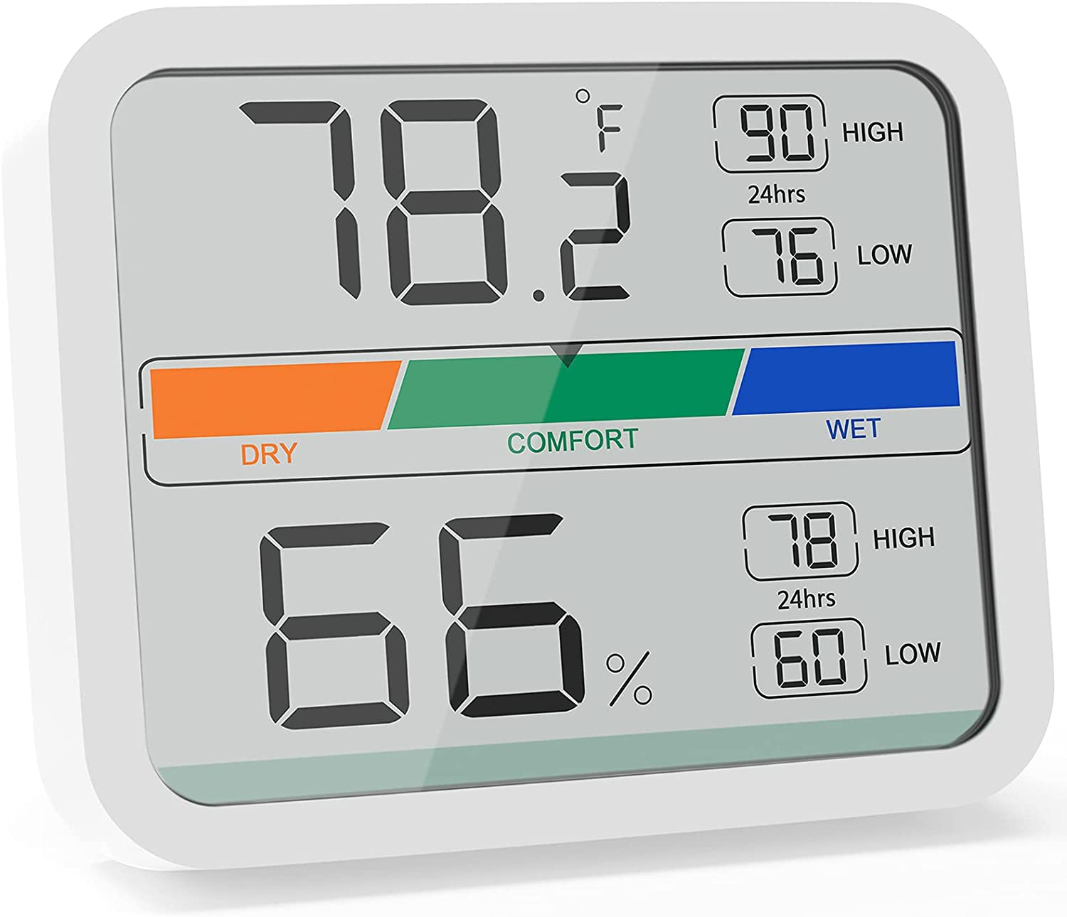 Outlet SALE LIORQUE Hygrometer Indoor Thermometer Gauge Humidity Large discharge sale Room with