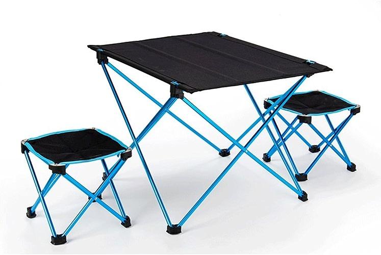 TangMengYun Chaise de camping pliante Table de transport ultra légère Tabouret en alliage d'aluminium Chaise de table pliante Chaise de pêche en plein air Tabouret décontracté