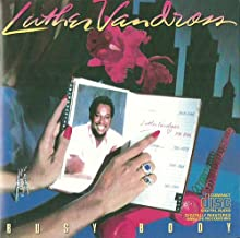 incl. How Many Times Can We Say Goodbye (CD Album Luther Vandross, 7 Tracks)