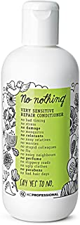 100% Vegan Repair Conditioner - Hypoallergenic Conditioner Repairs Weak and Damaged Hair - Allergen Free, Fragrance Free, ...
