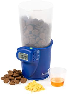 PetFusion Digital Food Scale & Scoop for Dry Dog Food & Cat Food (1, 2 Cup Versions). [Precision Measurement for Better Nu...