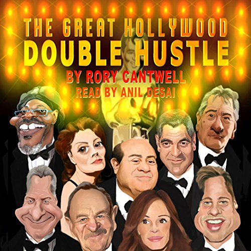 The Great Hollywood Double Hustle audiobook cover art