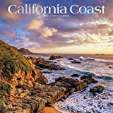 California Coast 2021 12 x 12 Inch Monthly Square Wall Calendar with Foil Stamped Cover, USA United States of America Pacific West State Nature