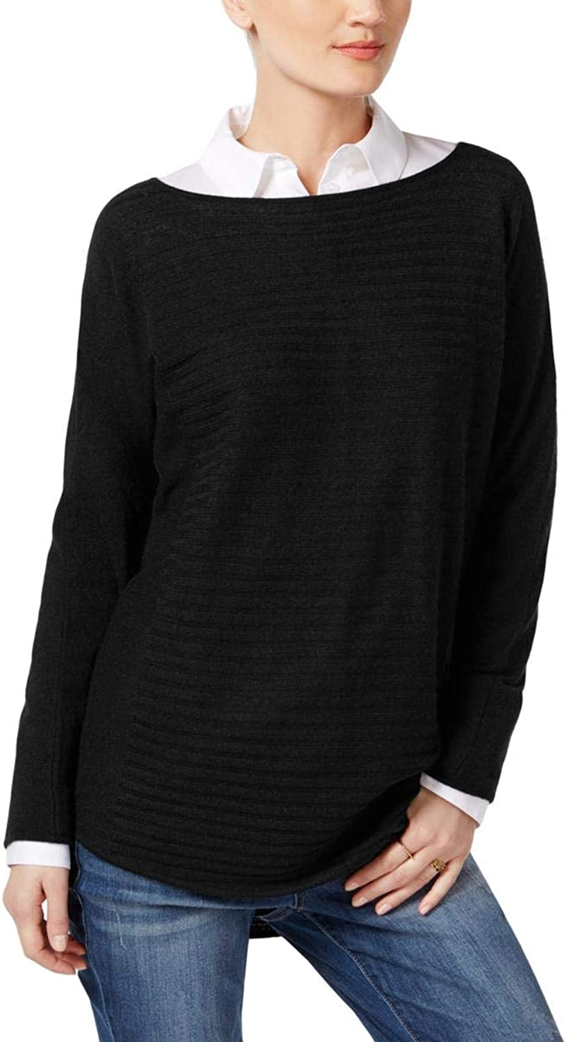 Charter Club Cashmere Ribbed Sweater,