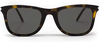 Luxury Fashion | Saint Laurent Mens SL304002 Brown Sunglasses | Fall Winter 19