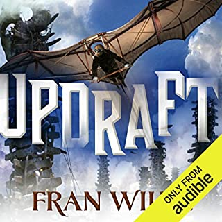 Updraft     Bone Universe, Book 1              By:                                                                                                                                 Fran Wilde                               Narrated by:                                                                                                                                 Khristine Hvam                      Length: 12 hrs and 6 mins     631 ratings     Overall 3.8