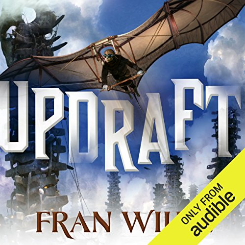 Updraft audiobook cover art