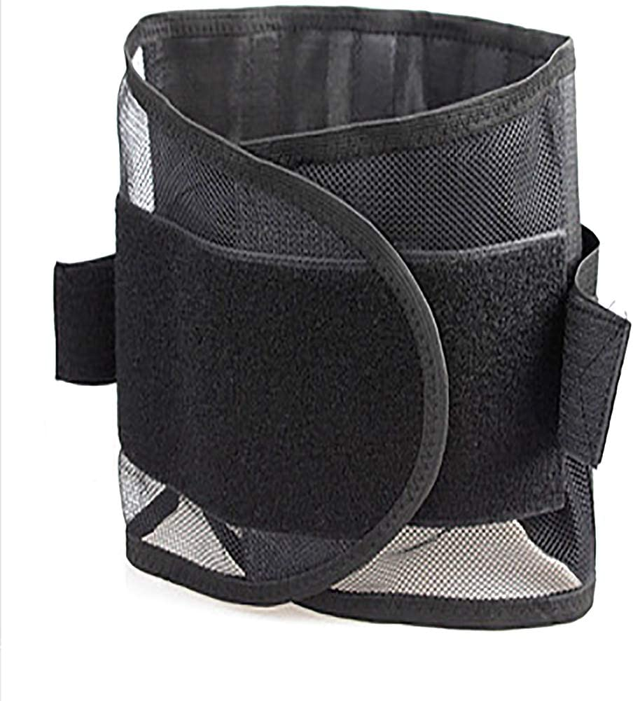 Mesh Breathable Design Sided Elastic Pulls Support Year-end annual account Belt Weekly update Lumbar R