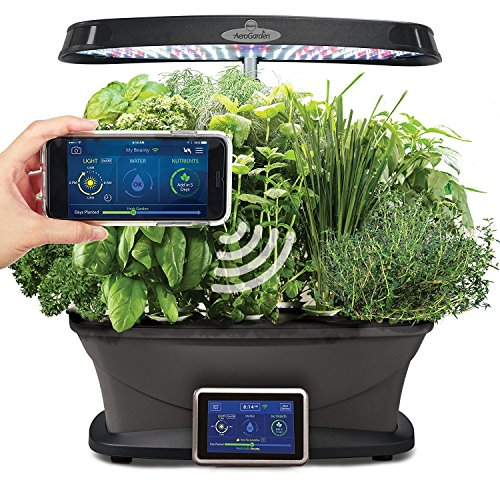 Miracle-Gro AeroGarden Bounty Wi-Fi with Gourmet Herb Seed Pod Kit