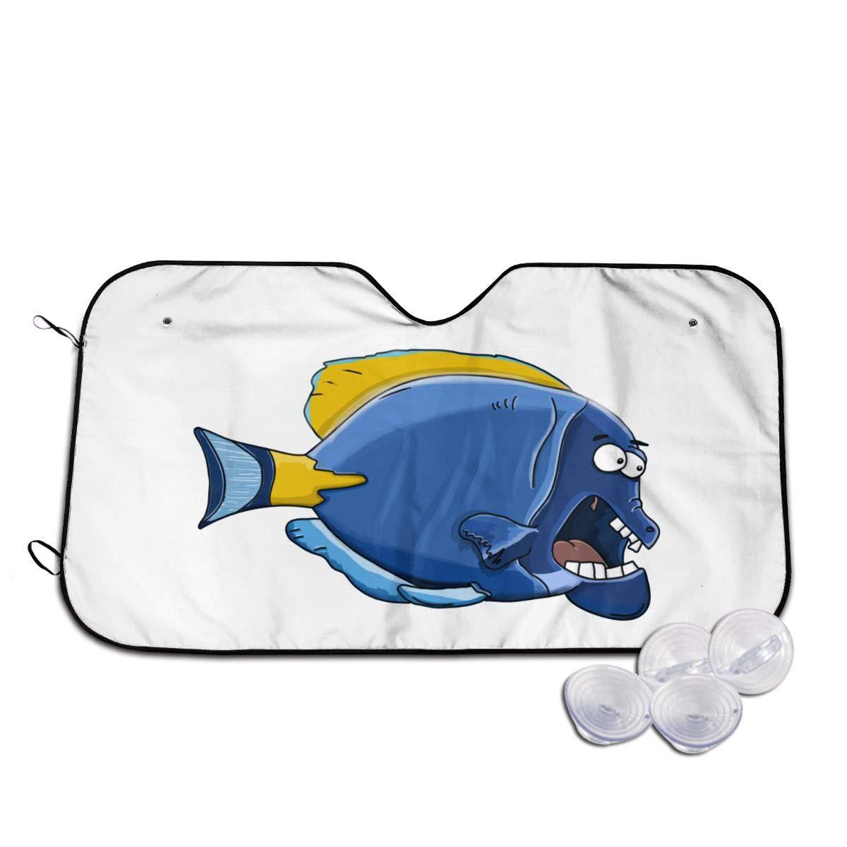 Car Popular Outlet ☆ Free Shipping standard Windshield Sunshade Auto Sun Aquarium Sunshad Fish Visor