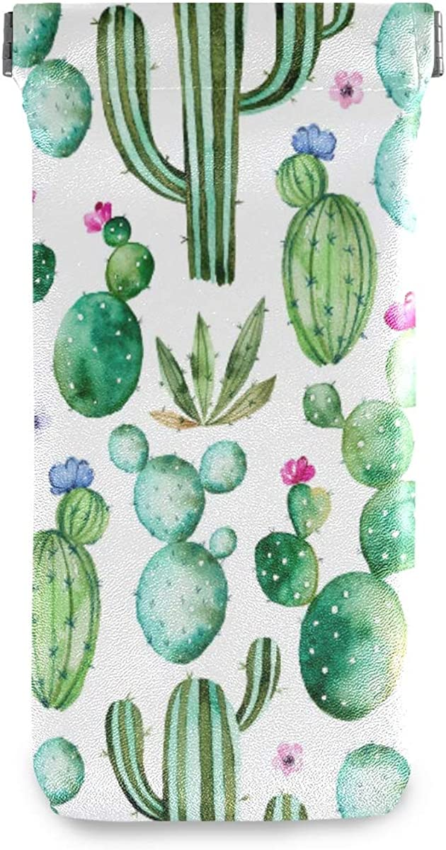 BETTKEN Sunglass Pouch Watercolor Tropical 2021 autumn and winter new Flower Super beauty product restock quality top Portabl Cactus