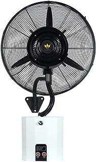 Ventilador De Enfriamiento por Pulverización,Mecánico,3 Archivos,Ventilador Comercial Móvil De Pared con Atomizador De Cabeza Móvil, Aire Acondicionado De Protección Exterior Cifrado.