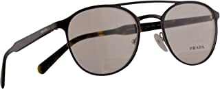 Prada VPR 60T Eyeglasses 49-20-140 Brown w/Demo Clear Lens DHO1O1 PR 60TV PR60TV VPR60T