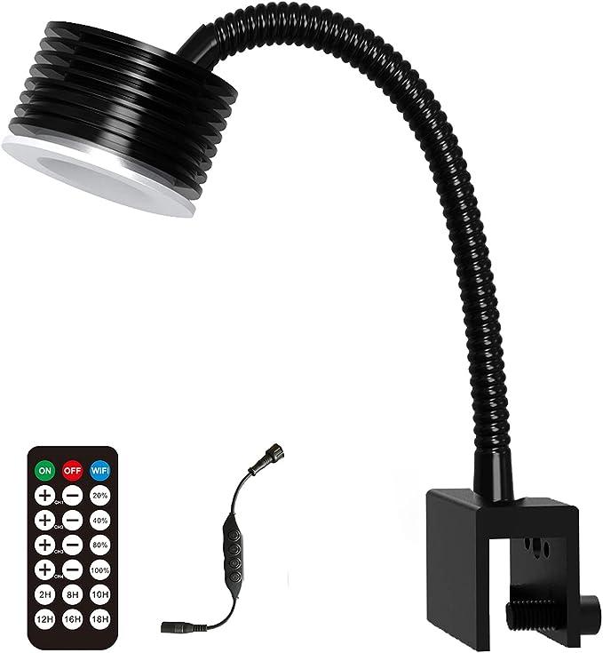 86 opinioni per Lominie LED Luce dell'acquario, Nano Asta 20 Full Spectrum WiFi & Remote Control