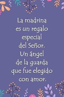 Libreta Rayada: Libreta Con Frase - Madrina Gifts, Madrina Regalo (Cuadernos Bonitos) (Spanish Edition)