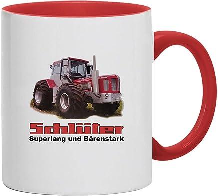 Preisvergleich für Bimaxx Tasse | Kaffeebecher | Schlüter - Superlang und Bärenstark | Traktor | Schlepper | Trecker