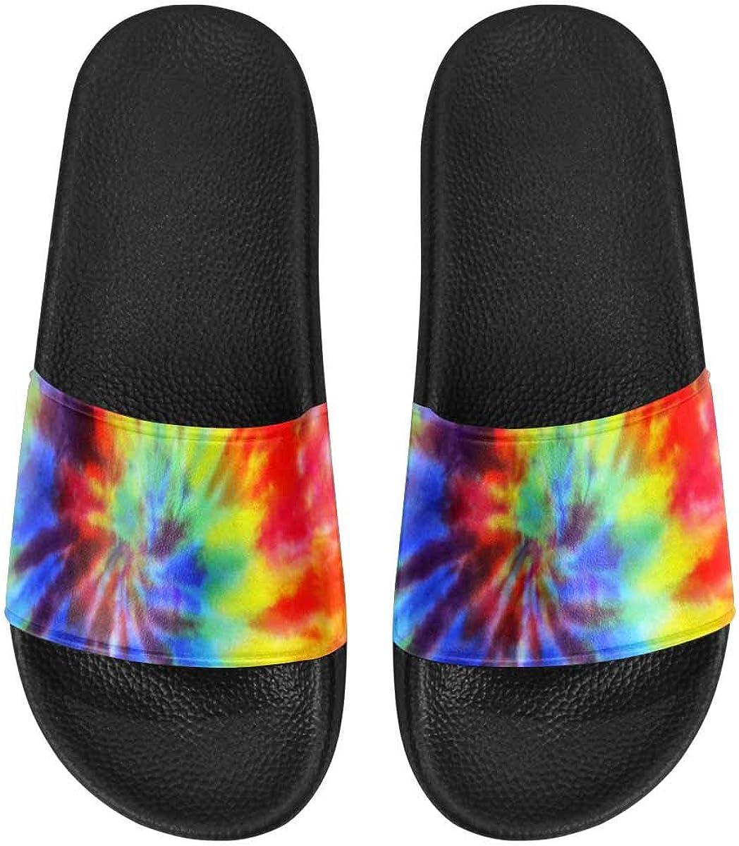 InterestPrint Women's Open Toe Slide Sandals (US6-US12)