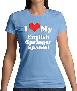 I Love My English Springer Spaniel - Womens T-Shirt - 10 Colours