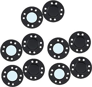 oshhni 10 pares de colchetes de botão magnético encaixes de liga tricô costura blusão de fechamento para bolsa de mão vest...